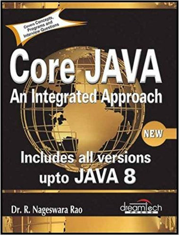 Core Java: An Integrated Approach, New (Includes All Versions upto Java 8)-Books-TBHPD-Helmetdon