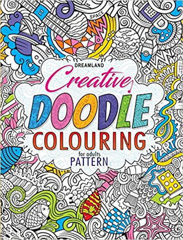 Creative Doodle Colouring - Patterns-Books-TBHPD-Helmetdon