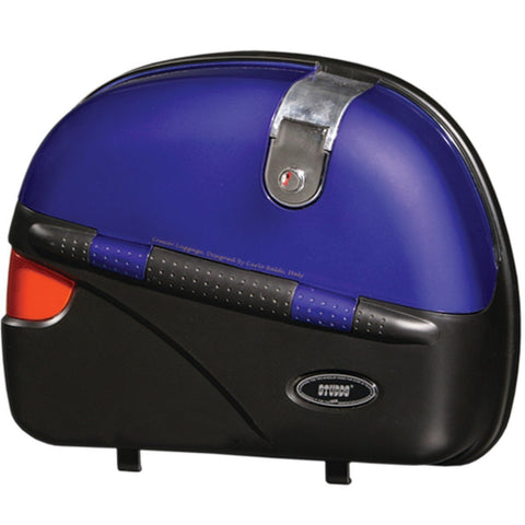Cruiser Box Flame Blue With Main Frame With Universal Fitment Clamps-Studds Box-Studds-4.7-Helmetdon