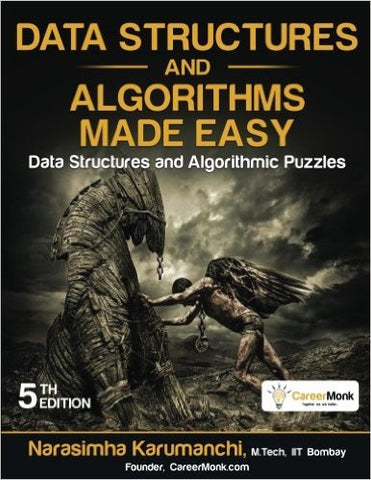 Data Structures and Algorithms Made Easy: Data Structures and Algorithmic Puzzles-Books-TBHPD-Helmetdon