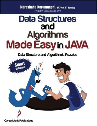Data Structures and Algorithms Made Easy in Java: Data Structure and Algorithmic Puzzles-Books-TBHPD-Helmetdon