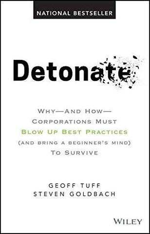 Detonate: Why – And How – Corporations Must Blow Up Best Practices (and bring a beginner′s mind) To Survive-Book-John Wiley & Sons-Helmetdon