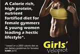 DEVELO VELOPROT GIRLS'/WOMEN HIGH PROTEIN DIET [VANILLA CREAM ] 500G-Health and Beauty-DEVELO-Helmetdon