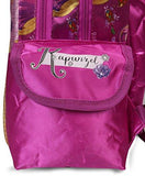 Disney Princess Rapunzel Purple School Bag for Children of Age Group 3 - 5 years| Size 14 inch | Material Satin-Luggage-Disney-Helmetdon