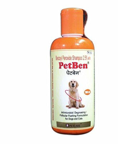 Dog Lovers Skin Care Pet Ben Shampoo (200 ml)-Pet Products-DOG LOVERS-Helmetdon