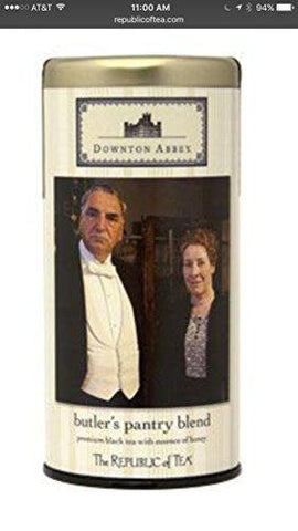 Downton Abbey Butler's Pantry Blend-Kitchen-The Republic of Tea-Helmetdon