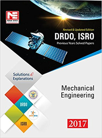 DRDO, ISRO: Mechanical Engineering- Previous Solved Papers - 2017-Books-TBHPD-Helmetdon