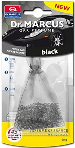 Dr.Marcus Fresh Bag Air Freshener (Black)-Car Perfume-Dr. Marcus-Helmetdon