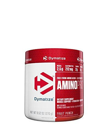 Dymatize Nutrition Amino Pro Endurance Amplifier - 30 Servings (Fruit Punch)-Health and Beauty-Dymatize Nutrition-Helmetdon