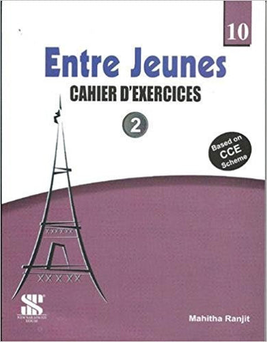 Entre Jeunes - 10: Educational Book-Books-TBHPD-Helmetdon