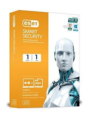 ESET Smart Security Version 10 (2017) - 1 PC, 1 Year (CD)-Computers and Accessories-Eset-Helmetdon
