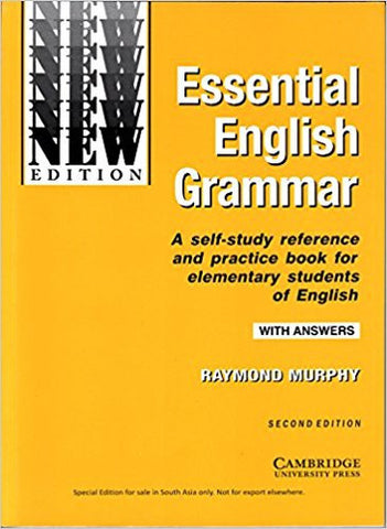 Essential English Grammar with Answers-Books-TBHPD-Helmetdon
