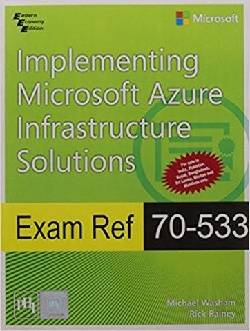Exam Ref 70-533: Implementing Microsoft Azure Infrastructure Solutions-Books-TBHPD-Helmetdon