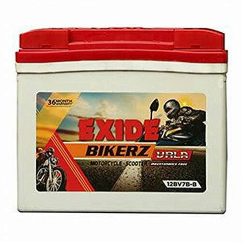 Exide Bikerz 2.5L-C 2.5 Ah Battery for Bike-Automotive Parts and Accessories-Exide-Helmetdon