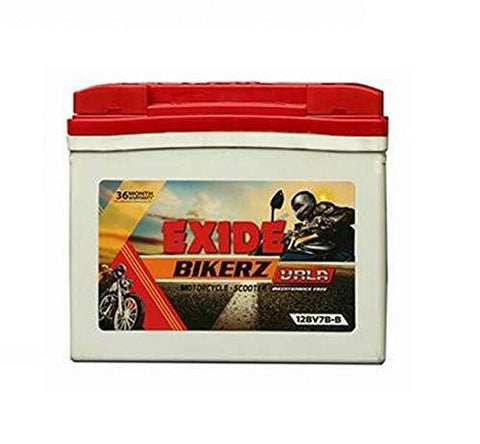 Exide Bikerz 7B 7 Ah Battery for Bike-Automotive Parts and Accessories-Exide-Helmetdon