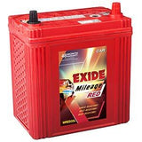 Exide Mileage Car Battery 35Ah-Automotive Parts and Accessories-Exide-Helmetdon