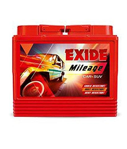 Exide Mileage Car Battery Din50-50ah-Automotive Parts and Accessories-Exide-Helmetdon