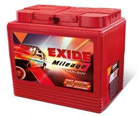 EXIDE Mileage MRED DIN 44R/L/44LH 44AH Battery-Automotive Parts and Accessories-Exide-Helmetdon