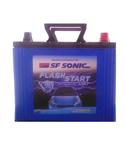Exide SF Sonic Flash Start FS1080-DIN80 Battery-CE-Exide-Helmetdon
