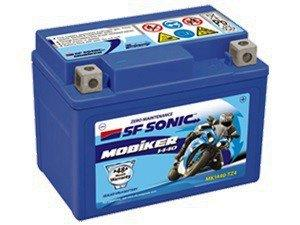 Exide SF Sonic Torque and Black Panther SQ1440-5L-B (SMF) Battery-CE-Exide-Helmetdon