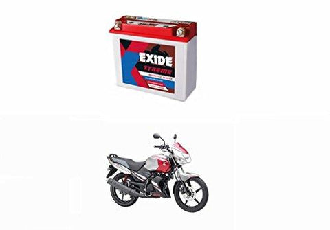 Exide Speedwav Xtreme 12XR2.5L-C 2.5AH Bike Battery- Yamaha Gladiator (Red)-Automotive Parts and Accessories-Exide Speedwav-Helmetdon