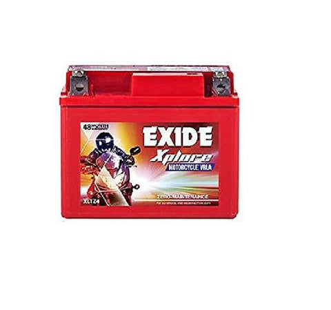 Exide XLTZ 4 Ah Battery for Bike-Automotive Parts and Accessories-Exide-Helmetdon