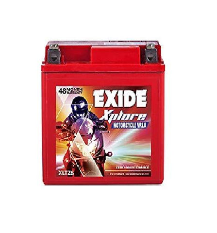 Exide XLZ 5 Ah Battery for Bike-Automotive Parts and Accessories-Exide-Helmetdon