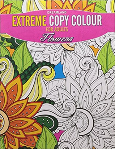 Extreme Copy Colour - Flowers-Books-TBHPD-Helmetdon