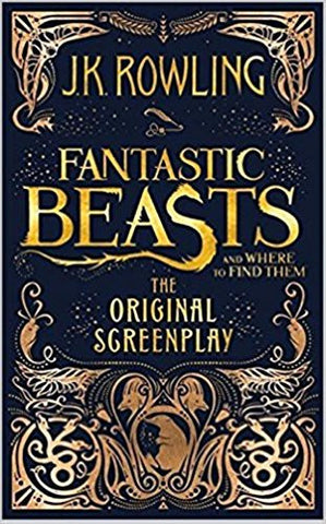 Fantastic Beasts and Where to Find Them : The Original Screenplay (Written in script format, not a novel)-Books-TBHPD-Helmetdon