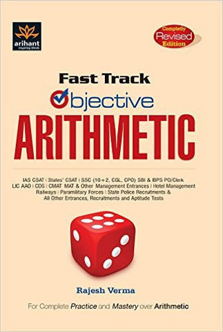 Fast Track Objective Arithmetic-Books-UBSPD-Helmetdon