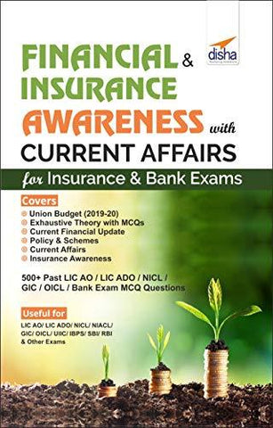 Financial & Insurance Awareness with Current Affairs for Insurance & Bank Exams-Book-Disha Publication-Helmetdon