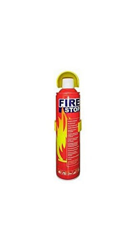 Fire Stop Car Fire Extinguisher with Stand (400-500 ml)-car care-Aditya-Helmetdon