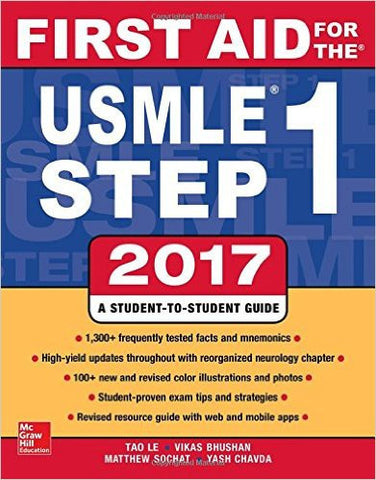 First Aid for the USMLE Step 1 2017 (A & L Review)-Books-TBHPD-Helmetdon