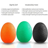 Fitsy Stress Relief Squeeze Balls for Hand Grip Strengthening - Set of 3-Sports-Fitsy-Helmetdon
