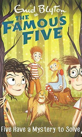 Five Have a Mystery to Solve: 20 (The Famous Five Series)-Book-Hodder Children's Books-Helmetdon