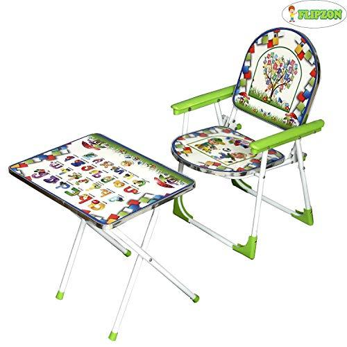 Flipzon Multipurpose Classy Folding Study Table Chair Set For Kids