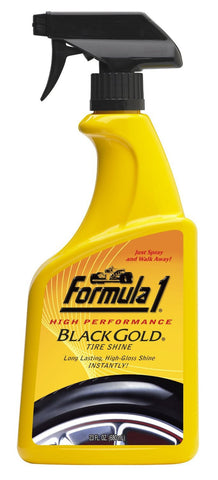 Formula 1 Black Gold Tire Shine 680ml-car care-Formula 1-Helmetdon