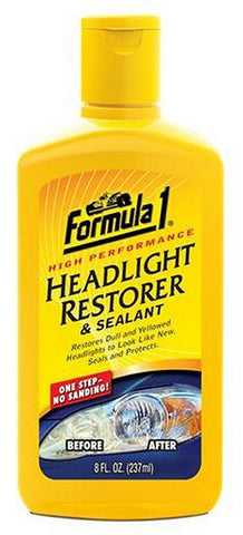 Formula 1 Headlight Restorer (237 ml)-Car Care-Formula 1-Helmetdon