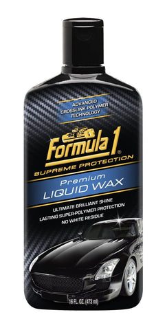 Formula 1 Premium Liquid Wax 473ml-car care-Formula 1-Helmetdon