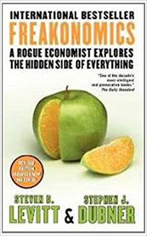 Freakonomics: A Rogue Economist Explores the Hidden Side of Everything-Books-TBHPD-Helmetdon