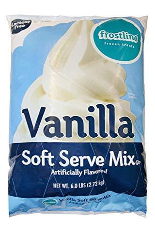 Frostline Vanilla Soft Serve Ice Cream Mix, 6 Pounds-Beauty-Frostline-Helmetdon