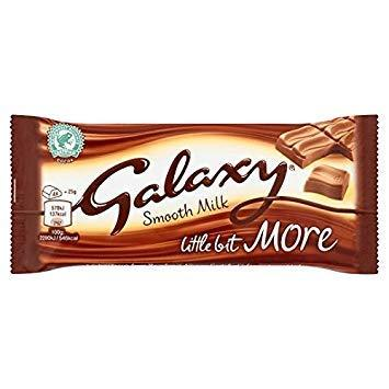 Galaxy Milk Kingsize Chocolate Bar 75 g (6 bars)-Beauty-Galaxy-Helmetdon