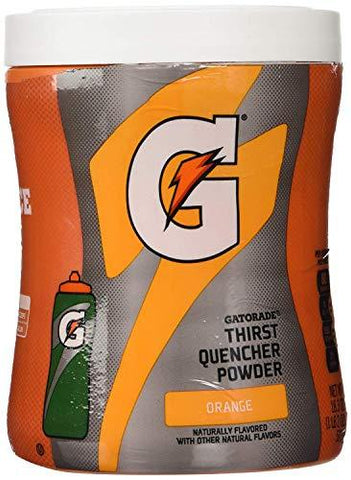 Gatorade Powder, Orange, 18.3-ounce Canister (1 Canister)-Beauty-Gatorade-Helmetdon