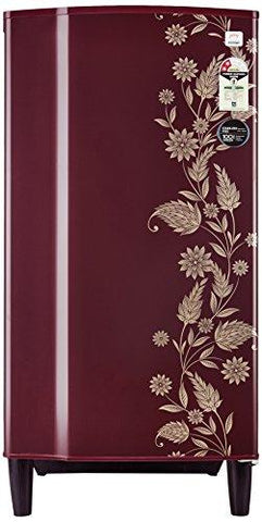 Godrej 182 L 2 Star Direct-Cool Single-Door Refrigerator (R D GD 1822 PT 2.2 Scr Drmn, Scarlet Dremin)-Godrej-Helmetdon