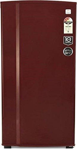Godrej 196 L 3 Star Direct-Cool Single-Door Refrigerator (R D GD 1963EW 3.2, Wine Red)-Godrej-Helmetdon