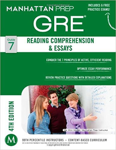 GRE Reading Comprehension & Essays (Manhattan Prep GRE Strategy Guides)-Books-TBHPD-Helmetdon