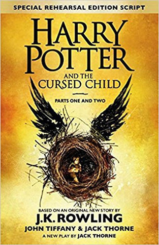 Harry Potter and the Cursed Child - Parts I & II (Special Rehearsal Edition Script - Written in script format, not a novel)-Books-TBHPD-Helmetdon