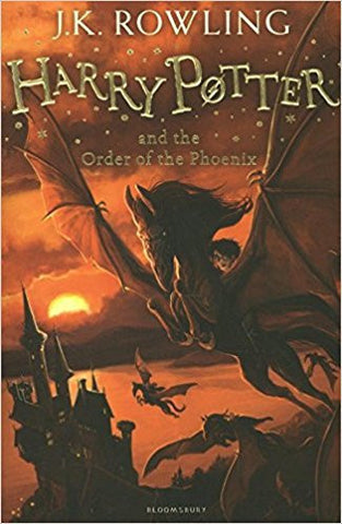 Harry Potter and the Order of the Phoenix (Harry Potter 5)-Books-TBHPD-Helmetdon