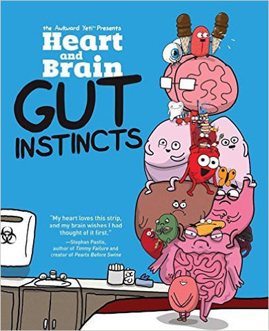 Heart and Brain: Gut Instincts: An Awkward Yeti Collection-Books-TBHPD-Helmetdon