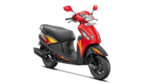 Hero Pleasure Sheet Metal Wheel - Accessory Pack, Insurance and RTO, Best On-road Price Deals in India-Auto - Scooters-Hero-Coimbatore-Rs. 999.00 Convenience Fee - On Road Price Rs.58480/-Helmetdon